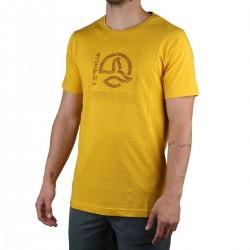 Ternua camiseta MARANAO Sun Gold Amarillo Hombre