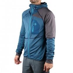 Ternua chaqueta Rager Dark Lagoon Azul Gris Hombre