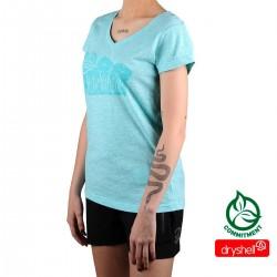 Ternua camiseta Sangar Deep Curacao Azul Claro Mujer