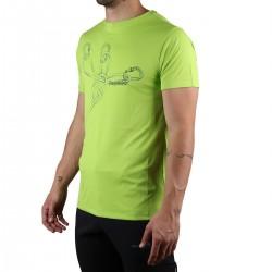 Trangoworld Camiseta Sangons VT Verde Lima Hombre