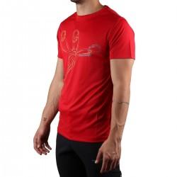 Trangoworld Camiseta Sangons VT Rojo Hombre