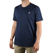 Le Coq Sportif Camiseta Essentiels Dress Blue Azul Marino Hombre