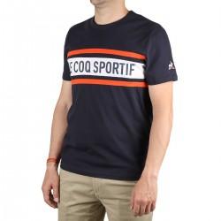 Le Coq Sportif Camiseta Essentiels Banda Logo Captain Hombre