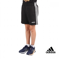 Adidas Bermuda Essentials Woven 3 bandas JR Black White Negro Niño