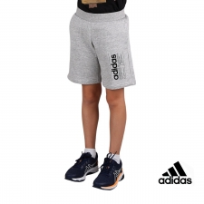 Adidas Bermuda Logo Brilliant Basic JR Grey Gris Niño