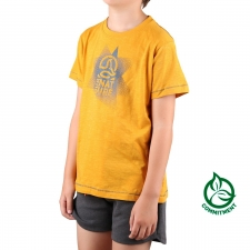 Ternua Camiseta Danuis Honey Amarillo Mostaza Niño