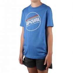 Rip Curl Camiseta Camiseta Big Mama Boy Blue Star Azul Niño