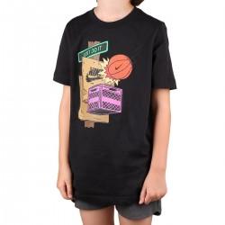 Nike Camiseta Sportswear Basketball Street Negro Niño