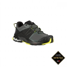 Salomon Zapatilla XA WILD GTX Urban Chic Black Evening Primrose Verde LimaHombre