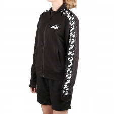 Puma Chaqueta Amplified Track Negro Mujer