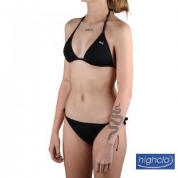 Puma Top Bikini Triangle Top Negro Mujer