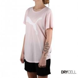 Puma Camiseta Evostripe Rosa palo Mujer