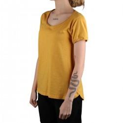 Astore Camiseta Nineu Chao Solidago Amarillo Mostaza Mujer