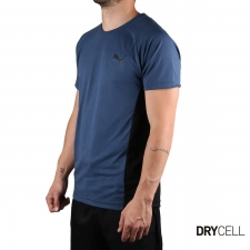 Puma Camiseta Evostripe Dark Denim Azul Oscuro Hombre