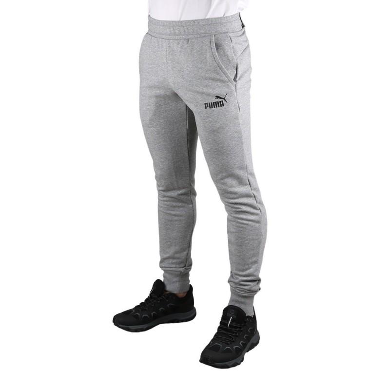 Puma Pantalón Essentials Sllim Pants Medium Grey Heater Hombre