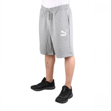 "Puma Bermuda Classics Shorts 10"" Medium Grey Heater Gris Hombre"