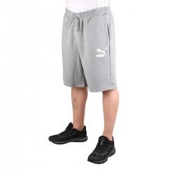 """Puma Bermuda Classics Shorts 10"""" Medium Grey Heater Gris Hombre"""