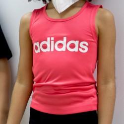 Adidas Camiseta Cardio Tank Pink Rosa Niño