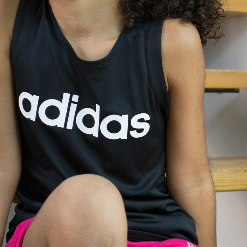 Adidas Camiseta Cardio Tank Black Negro Niño