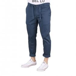 Pepe Jeans Pantalón Jogger Keys Minimal Thames Estampado Azul Hombre