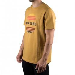 Rip Curl Camiseta El Mama Mutard Amarillo Mostaza Hombre