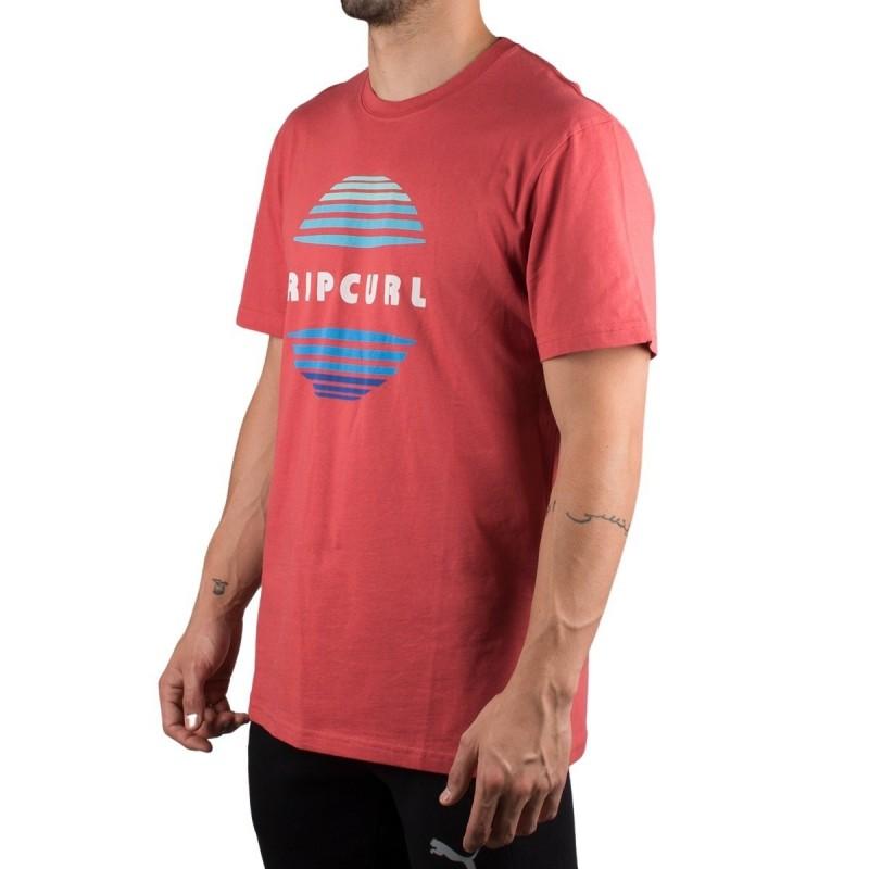 Rip Curl Camiseta El Mama Washed Red Rojo Claro Hombre