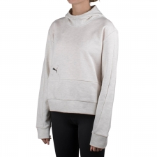 Puma Sudadera con capucha Nu-tility Hoodie White Heather Blanco Mujer