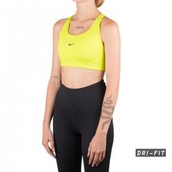 Nike Top deportivo Swoosh con logotipo mini Cyber lima Mujer