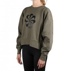 Nike Sudadera Iconclash Dri-FIT Verde Caqui Mujer