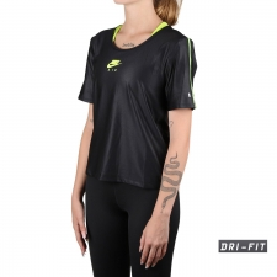Nike Camiseta Air Negro Voltio Mujer