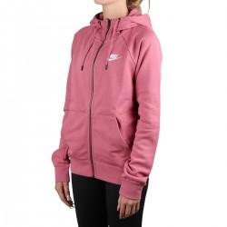 Nike Sudadera Sportswear Essential Desert Berry Rosa Mujer