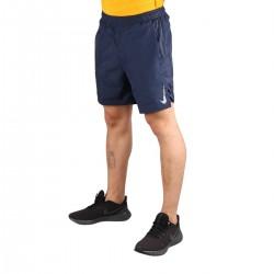 Nike Short Challenger 2 en 1 18 cm Obsidiana Azul Marino Hombre