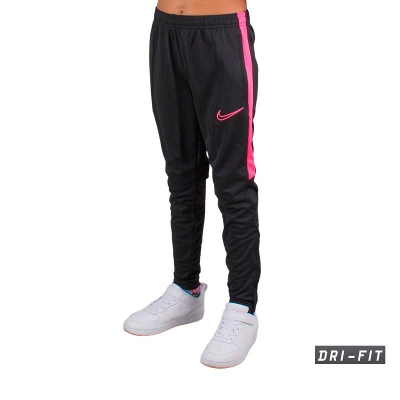 Depresión Descarga Pobreza extrema  Nike Pantalon Chándal Dri-Fit Academy Negro Rosa Niño