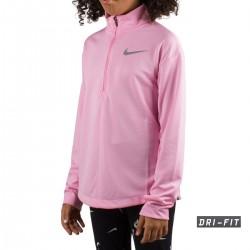 Nike Pull Running Rosa Niño
