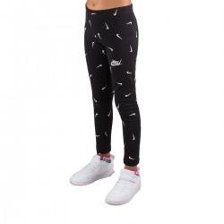 Nike Mallas Sportswear Swoosh Negro Niño