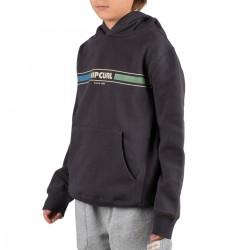Rip Curl Sudadera Mama Horizon Hood Fleece Boys Washed Black Negro Niño