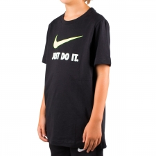 Nike Camiseta Sportswear Just Do IT Negro Niño