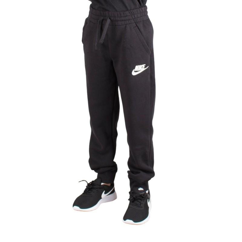 Franco Locura cartucho  Nike Pantalón de chándal Sportswear Club Fleece Jogger Negro Niño
