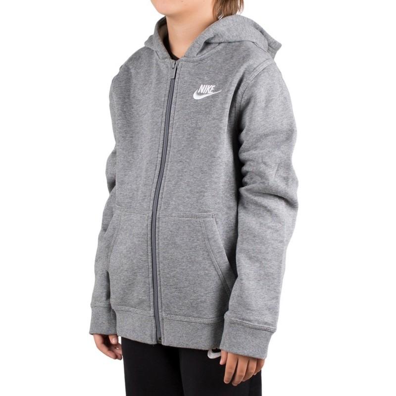 Nike Sudadera Sportswear Club Gris humo jaspeado Niño