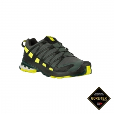 Salomon Zapatilla XA PRO 3D v8 GTX Urban Chic Black Lime Punch Hombre