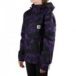 Carhartt Canguro Nimbus Winter Camo Blur Purple Camuflaje Morado Mujer