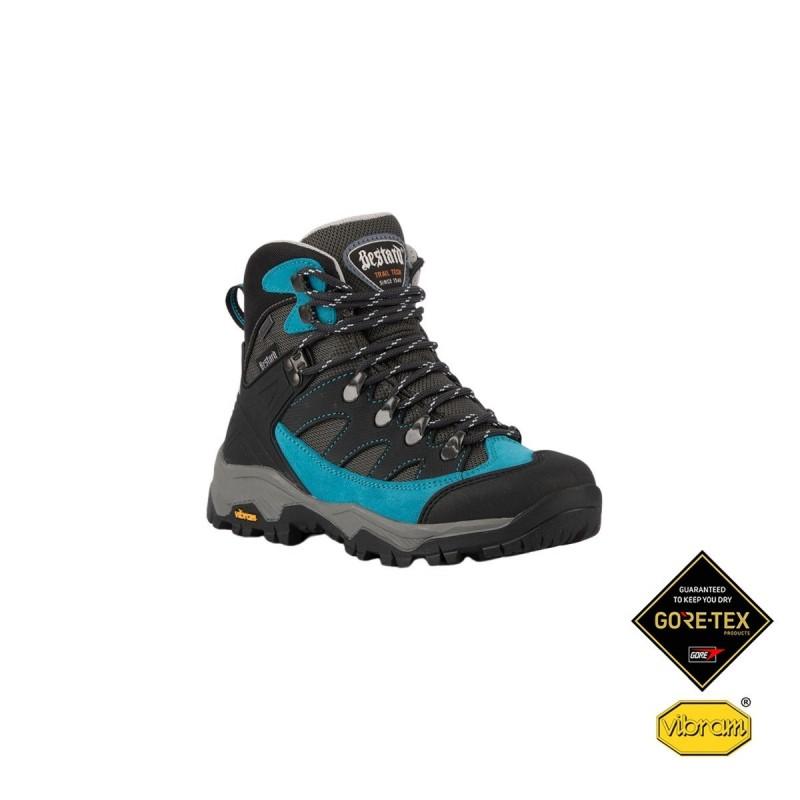 Bestard Bota trekking Beraton W Goretex Negro Azul Mujer