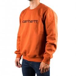 Carhartt Sudadera Sweatshirt Naranja Hombre