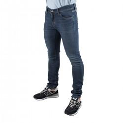 Carhartt Pantalón Rebel Blue Dark Worn Wash Azul desgastado Hombre