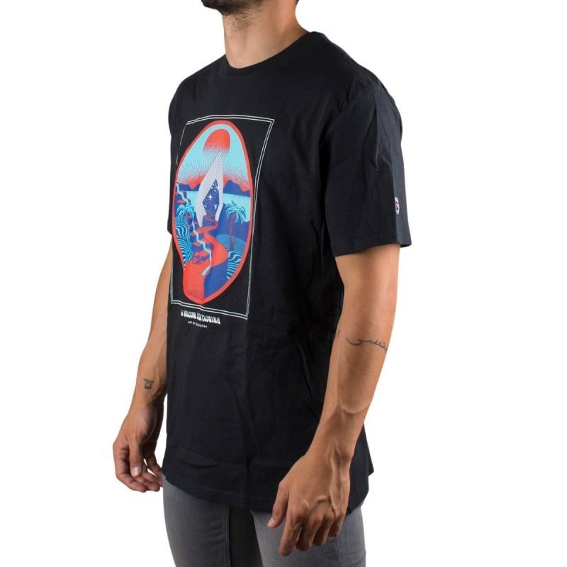 Volcom Camiseta ZUVERZA Negra Hombre
