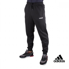 ADIDAS Pantalón chándal Essential Plain Tapered Cuffed Negro Hombre
