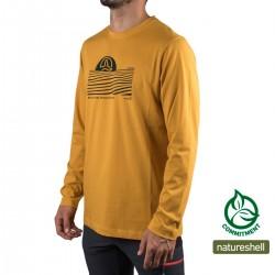 Ternua Camiseta Skir Honey Amarillo Hombre