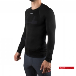Ternua Camiseta Enko Black Negro Primera Capa Hombre