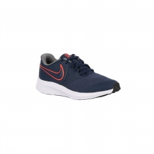 Nike Zapatilla Star Runner 2 GS Midnight Navy Bright Crimson Azul Marino Niño
