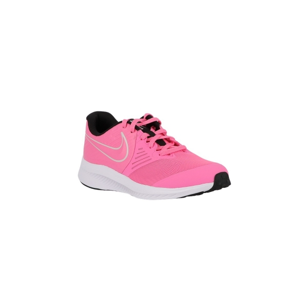 Nike Zapatilla Star Runner 2 GS Pink Glow Photon Dust Rosa Fucsia Niño